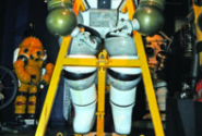 Dive Museum Showcases Vintage Deep Sea Diving Suit
