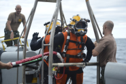Navy Divers, Sailors Recover F-16 Fighter Jet