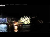 Time-Lapse Video: Costa Concordia Pulled Upright at Last