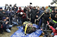 Massive Meteorite Hauled Out of Russian Lake by Divers