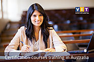 Certification courses in Melbourne,Australia