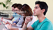 English Courses and Training in Melbourne, Australia