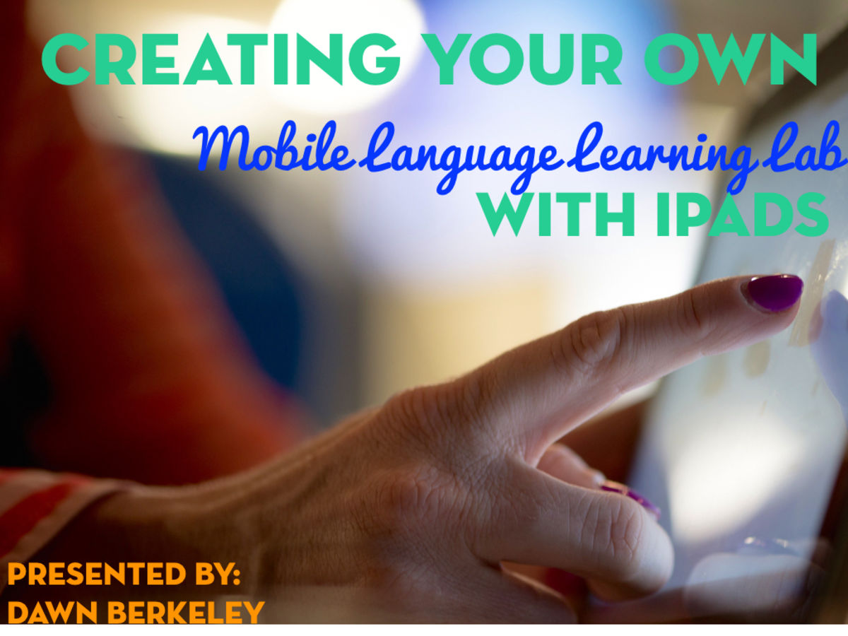 Headline for Creating Your Own Mobile Language Learning Lab with iPads