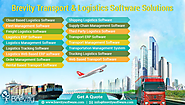 Transport and Logistics Management Software development Company