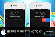 How to Create Interactive Notifications with Actions in iOS 8?