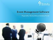 Online Event Management Software Development Company