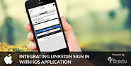 Integrating LinkedIn Sign In with iOS Application