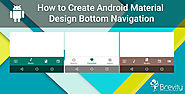 How to Create Android Material Design Bottom Navigation