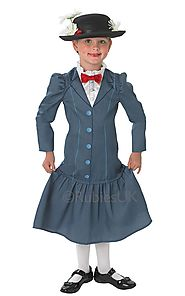 Website at http://www.partyworld.ie/kids-mary-poppins-costume/888832sm/