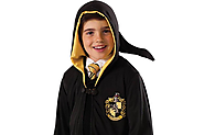 Dressing up as Hufflepuff in World Book Day