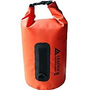 Leader Accessories New Heavy Duty Vinyl Waterproof Dry Bag for Boating Kayaking Fishing Rafting Swimming Floating and...