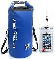 Premium Waterproof Bag, Sack with phone dry bag and long adjustable Shoulder Strap Included, Perfect for Kayaking / B...