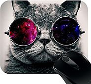 HuppmeGift Cool Cat Mousepad