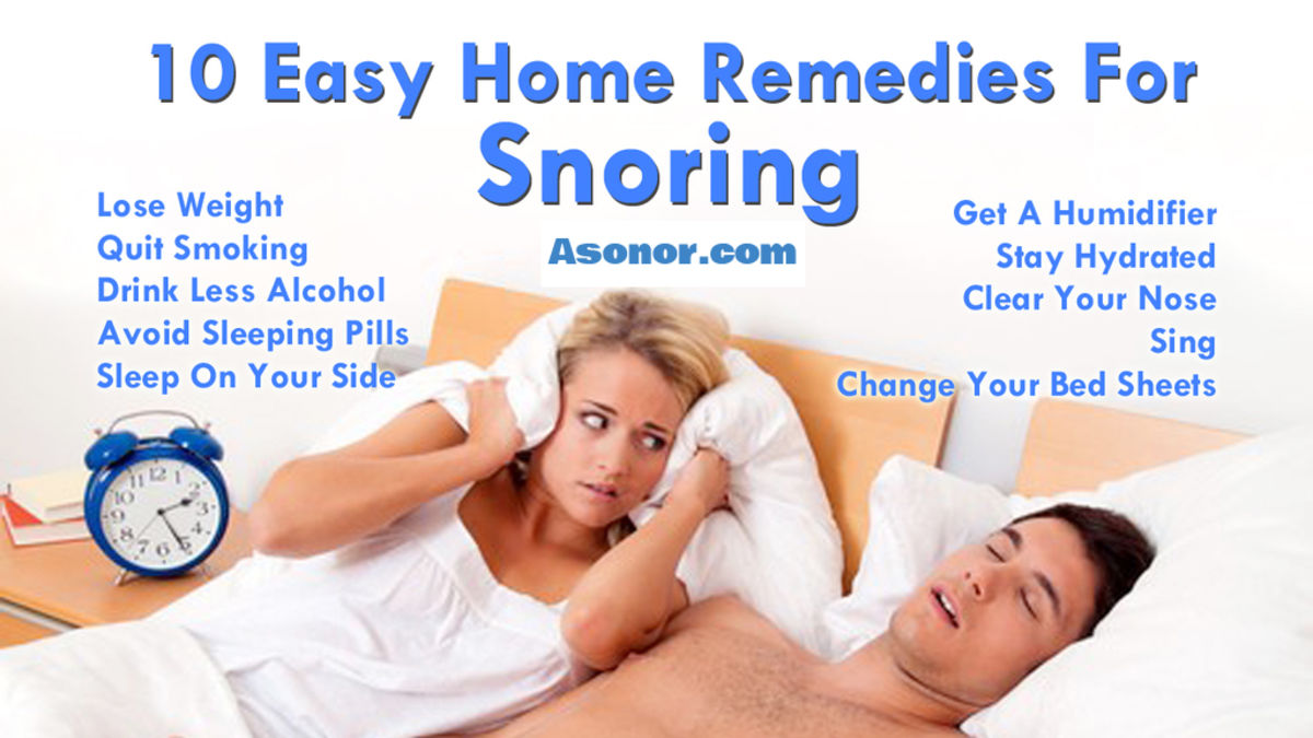 Headline for Some of the Easy Ways to Stop or Reduce Snoring