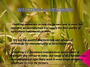 Advanced Farming Technologies - Fieldking