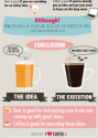 Your Brain On Beer Vs Coffee (Infographic)
