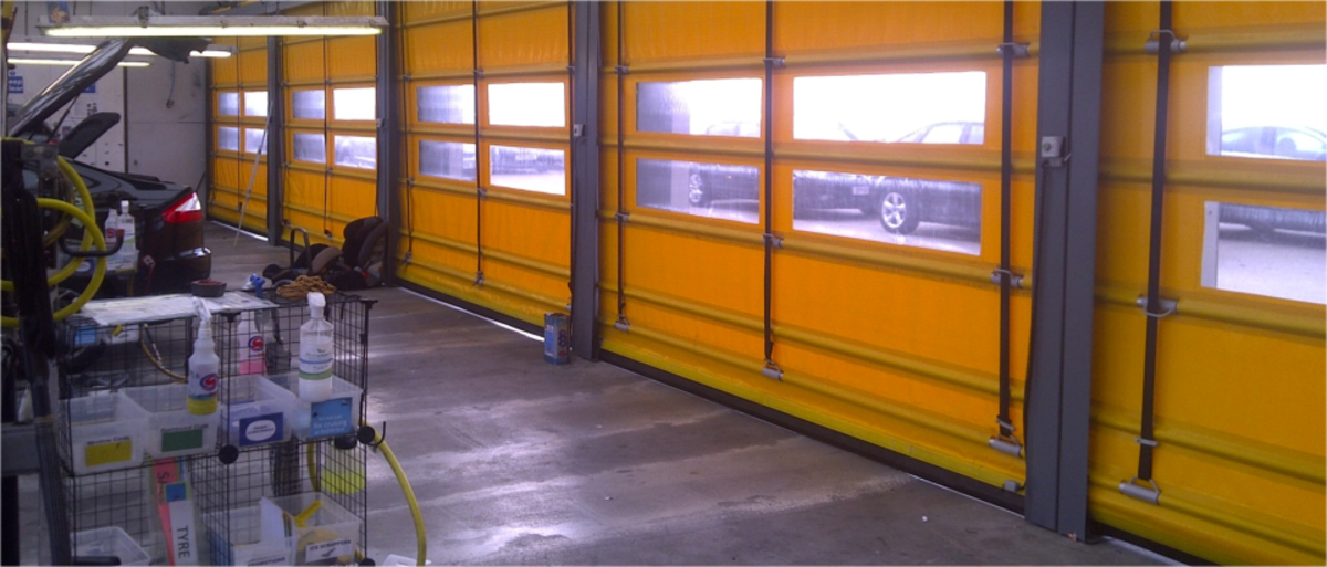 Headline for 5 Key Benefits of Installing a Turbo Roll High Speed Door