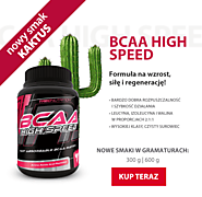 NOWY SMAK BCAA HIGH SPEED: KAKTUS