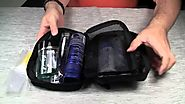 Small, but effective first aid and basic toiletries kit