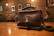 A fashionable and spacious bag/briefcase