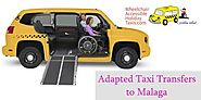Adapted Taxi Transfers to Malaga