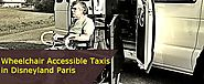 Wheelchair Accessible Taxis in Disneyland Paris