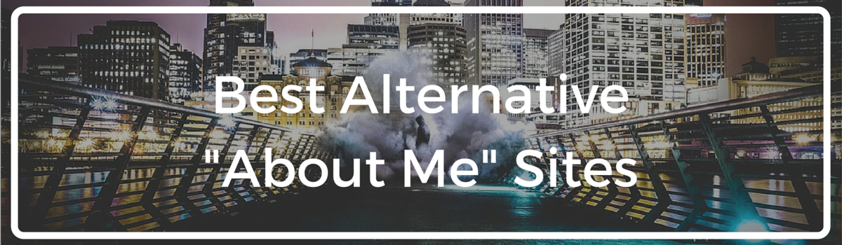 "Headline for Alternative ""About Me"" Sites"