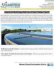 Water Treatment Plants in India