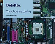 Research Report from Deloitte: The robots are coming