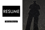 Visual Resume Shivam Dhawan