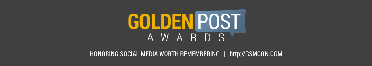 Headline for 2016 Golden Post Award Finalists