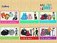 Online Shopping for Kids: Buy Kids Wear Online for Dresses, Party Wear, Clothes in India