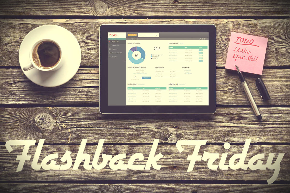 Headline for Flashback Friday (Feb 29 - Mar 4 ): Best Articles in UX, Design & Ecommerce This Week