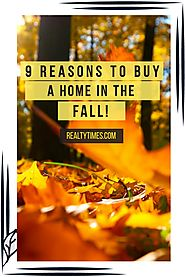Why Buy A Home In The Fall