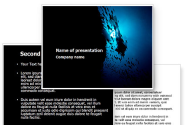 Diver PowerPoint Template