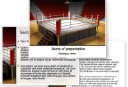 Before the Fight PowerPoint Template