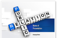 Public Relation PowerPoint Template