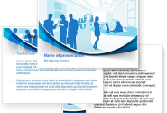 Office Silhouettes PowerPoint Template