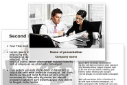 Business Consulting Meeting PowerPoint Template