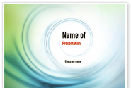 Spiral Wave PowerPoint Template