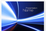 Moving into Infinity PowerPoint Template
