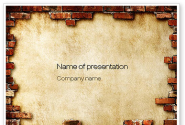 Brick Frame PowerPoint Template