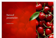 Cherries PowerPoint Template