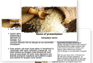 Grains Of Rice PowerPoint Template