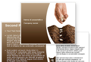 Planting Seeds PowerPoint Template