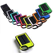 2015's| #2 Most Pinned Product: 'Clip & Tag Along Solar Battery' - [A Solar-Powered Compact Battery w/USB for Chargin...