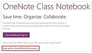 OneNote Class Notebook now available for all educators - Microsoft in Education Blog - Site Home - TechNet Blogs