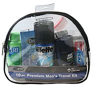 Handy Solutions, 10 pc. Premium Men's Travel Kit