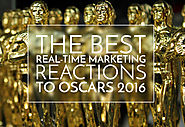 The Best Real-Time Marketing Reactions To Oscars 2016 (And Leo Finally Getting One) - Social Listening Academy