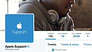 Apple Finally Joins Twitter With an Eye Toward Socializing Its Customer Service